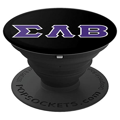 Sigma Lambda Beta - PopSockets Grip and Stand for Phones and ()