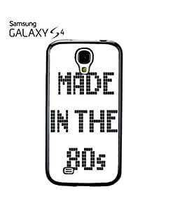 Made in the 80's Mobile Cell Phone Case Samsung Galaxy S4 White