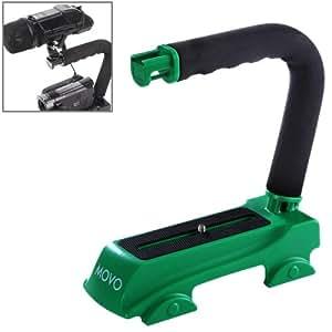 C Apoyo de Shape-Soporte Para Cámara Réflex Digital y Videocámara DV, ECR 007GN (Green-)