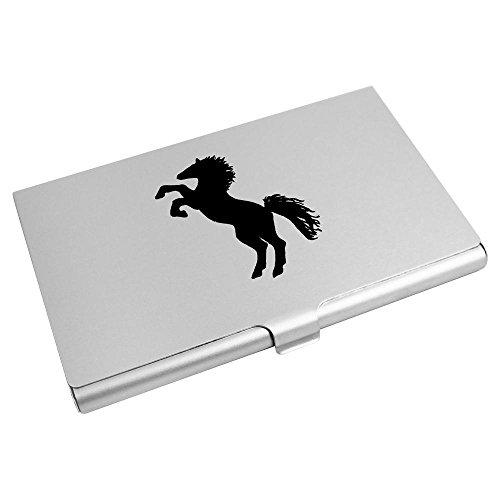 Business Card Credit Wallet Holder Azeeda Card CH00005218 'Proud Horse' xCqwAa