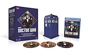 Doctor Who: Christmas Specials Giftset with Tardis Speakers  [Blu-ray]