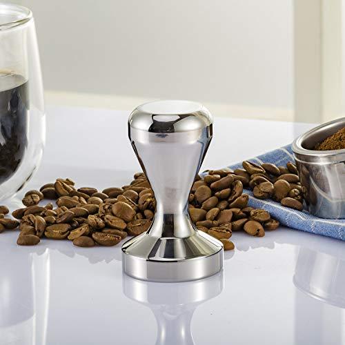 BlueSnail Stainless Steel Coffee Tamper Barista Espresso Tamper 51mm Base Coffee Bean Press