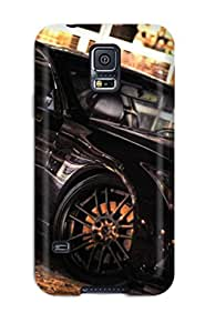New Style Case Cover LHJNPPl1130MoQTA Metallic Black Car Compatible With Galaxy S5 Protection Case