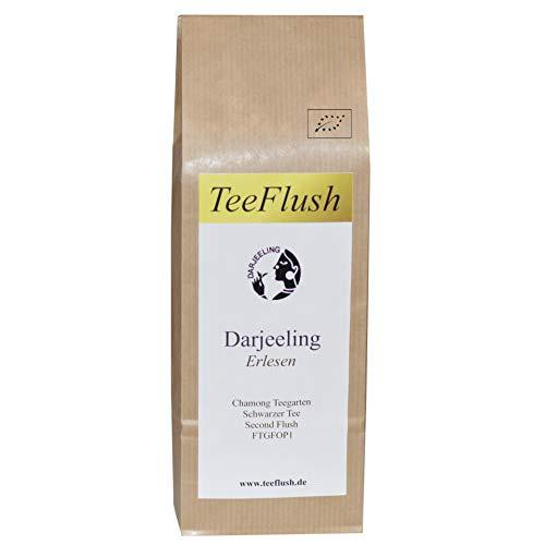 Darjeeling Second Flush FTGFOP1, 2018, Schwarztee, Bio, 250g, Chamong Gruppe-Phoobsering Teegarten, Geschmack: blumig, etwas kräftig mit Muskatellerton