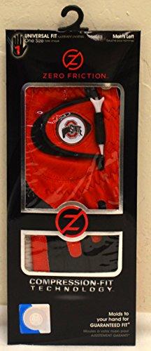 (Zero Friction Men's Left Hand Universal Golf Glove - Ohio State -)