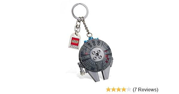 RETIRED 2007 LEGO 852113 4520679 STAR WARS™ MILLENNIUM FALCON™ KEY CHAIN