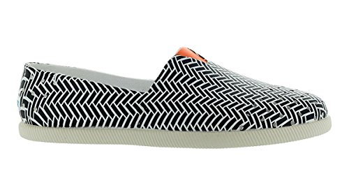 Verona Noir Nacre / Shell Blanc / Queue Dorange Orange Slip On Shoes Us 9