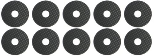 stick-on-10-x-25mm-self-adhesive-rubber-washer-1-4-ideal-for-tripod-camera-flash-bracket