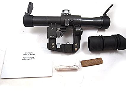 Amazon com : Kalinka Optics POSP 4x24 Rifle Scope, 1000m Rangefinder