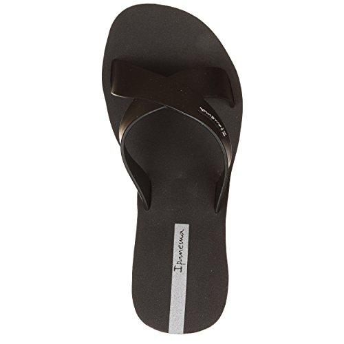 Labios Barra De Negro Cuña Ipanema Zapatos Correas 6qfwpc