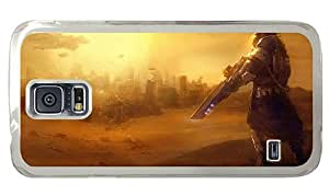 Hipster Samsung Galaxy S5 Cases shop dune sniper PC Transparent for Samsung S5 by supermalls
