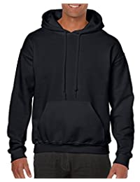 Gildan Mens Men's Fleece Hooded Sweatshirt