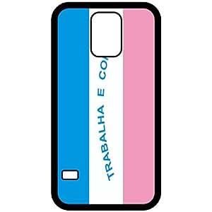 Espirito Santo Flag Black Samsung Galaxy S5 Cell Phone Case - Cover