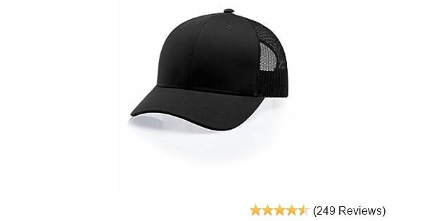 98fa8efe3b0 Amazon.com  Richardson 112 Snapback Trucker Cap  Clothing