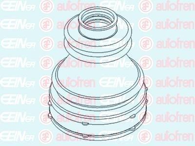 Kit Cuffia ERT 500444 Semiasse