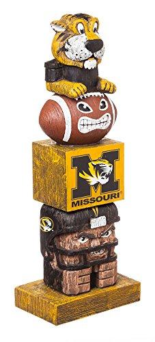 Team Sports America NCAA Missouri Tigers Tiki Totem