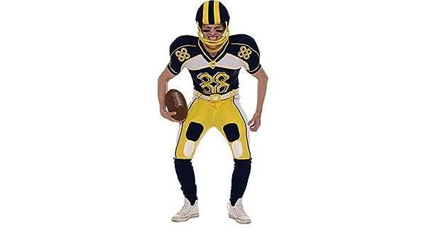 Orion Costumes Disfraz de jugador de Fútbol Americano (Casco y balón)   Amazon.es  Juguetes y juegos f1edd90bdbd