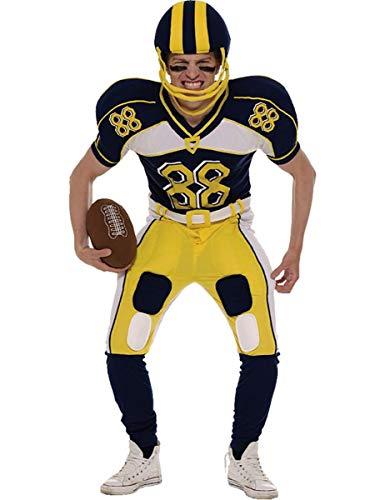 Orion Costumes Disfraz de jugador de Fútbol Americano (Casco y balón)