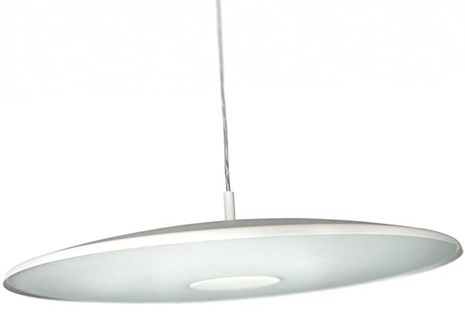 Philips ecomoods 402353116 white pendant suspension ceiling light philips ecomoods 402353116 white pendant suspension ceiling light with adjustable height aloadofball Gallery