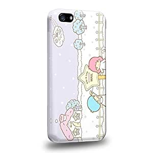 Case88 Premium Designs Little Twin Star Kiki And Lala Dreamy Diary 1321 Protective Snap-on Hard Back Case Cover for Apple iPhone 5C