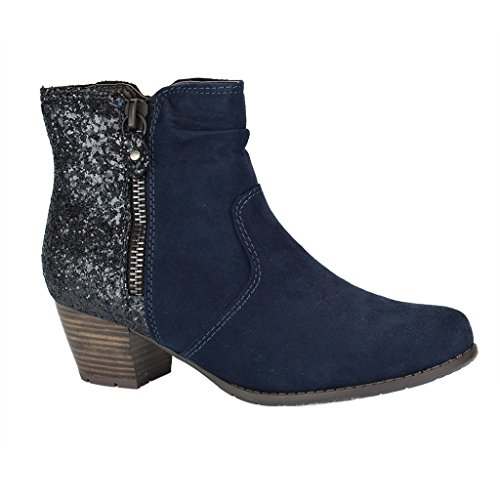 Softline Women''s Ankle Boots Navy 25370 88OqnBwr