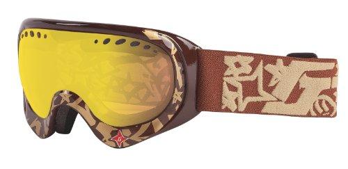 Gordini masque de ski, triumph gG35PL gRAFFITI-marron