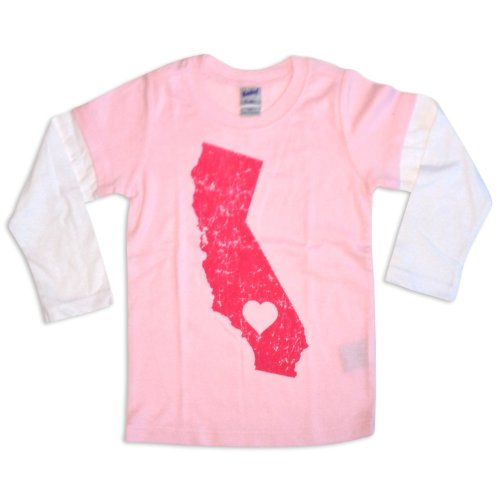 Sol Baby California Love Twofer Pink Tee-12m-Pink by Sol Baby