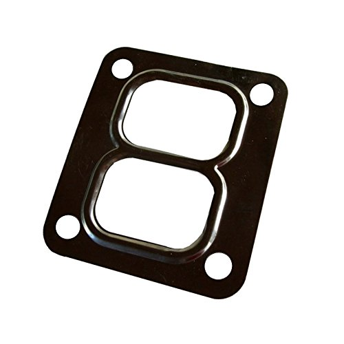 Turbo 4 Bolt Divided Gasket for Garrent GT4082 GT4202R Turbo T4 Turbine Divided Flange Inlet Stainless Steel - Turbine Inlet Divided