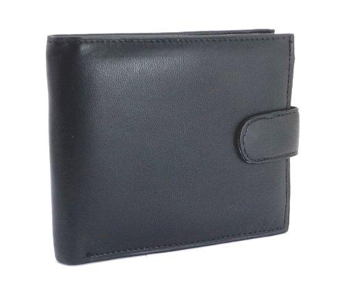 Cuir Luxe Pour En Hommes 895 Poche Ras® Noir Portefeuille De Monnaie noir 7qnOxaTR