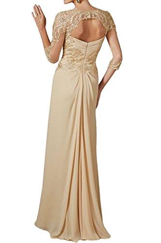 Damen Braut Langes Perlen Partykleider Salbei La Etuikleider mit Abendkleider Marie Brautmutterkleider Ra7HanAx