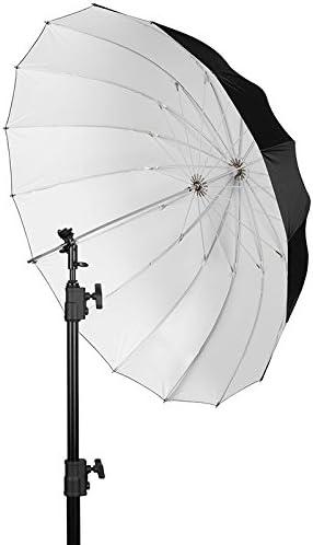 Westcott Apollo Deep Umbrella White 109 Cm Tiefer Elektronik