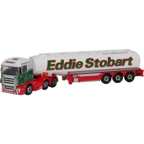 Oxford Die Cast Scania Highline Tanker - Eddie Stobart