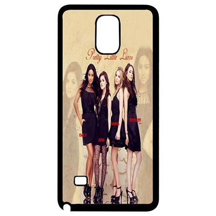 [Treasure Design Pretty Little Liars Samsung Galaxy Note 4 Black Snap On Cases - Custom Samsung Galaxy Note 4 Carring] (Peter Pan Cast Costumes)