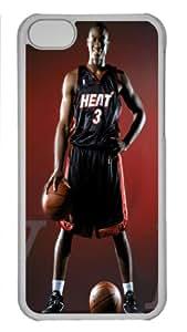 Dwyane Wade APPLE iphone 5c Case, Unique Designer Dwyane Wade Case Covers For APPLE iphone 5c