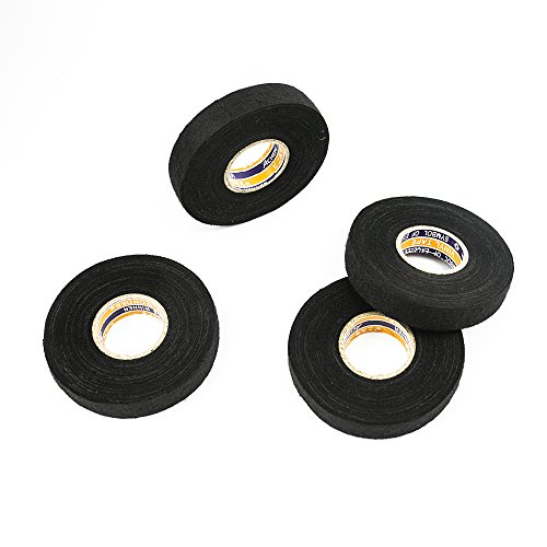 Fleece Wire Harness Fuzzy Tape : Black fuzzy fleece interior wire loom harness tape car