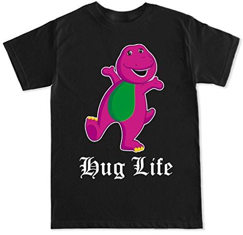 FTD Apparel Men's Hug Life Barney T Shirt - XL -