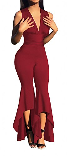 Belted Jumpsuit Asymmetric Palazzo Trouser product image