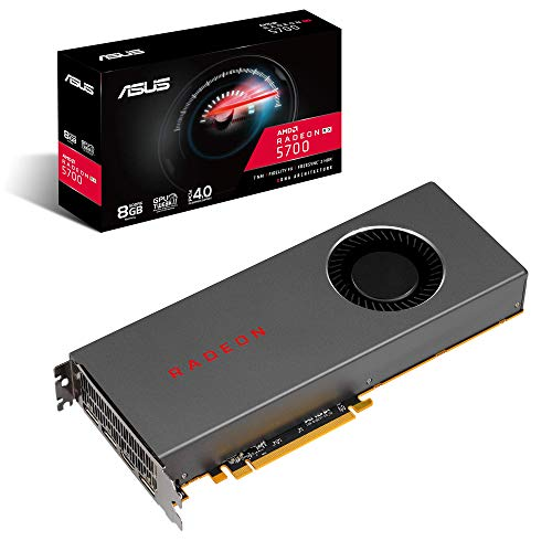 Asus AMD Radeon Rx 5700 PCIe 4.0 VR Ready Graphics Card with 8GB GDDR6 Memory and Support for up to 6 Monitors (RX5700-8G) ()