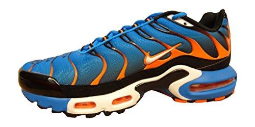 Nike Air Max Plus TN photo blue white total orange 400