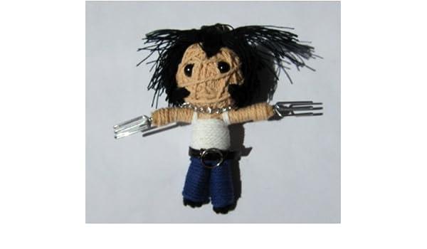 Llavero de muñeco vudú de cuerdas con diseño de Lobezno ...
