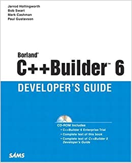 Borland C++ Builder 6 Developers Guide
