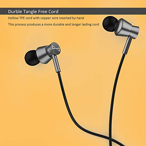 eb08a98a782 ... Marsno M2 Wired In Ear Headphones, Earbuds, Full Metal Earphones with  Mic and Volume ...