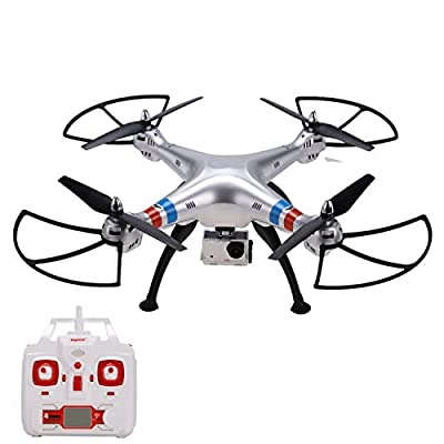4.5Channel 2.4GHz With A 8 Million Pixels Camera,1080p HD Aerial Quadcopter Drone by Cheesea