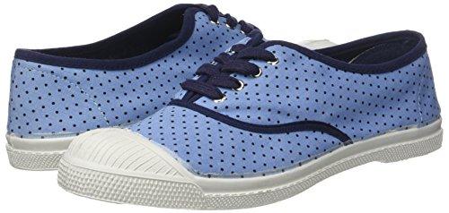 Bensimon Sneaker Lacet Multicolore Donna Marine Poisdenim Tennis pois awvx68