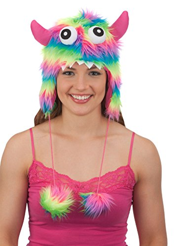 Jacobson Hat Company Striped Furry Monster Hat