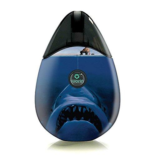 Skin Decal Vinyl Wrap for Suorin Drop Vape Kit skins stickers cover/ Great White shark - Shark Vapor Accessories