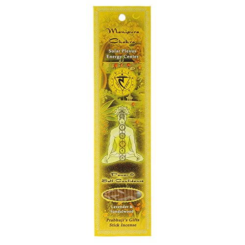 Incense Sticks Solar Plexus Chakra Manipura - Power and Self-confidence
