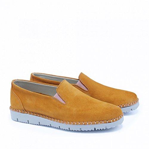 Castellanisimos Leather Espadrilles for Men Summer Elegant Brown PW3Wf