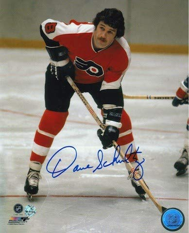Autographed Dave Schultz Philadelphia Flyers 8x10 Photo - Signed NHL Photos