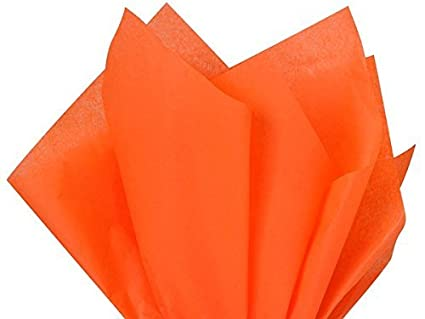 Bulk Bright Orange Tissue Paper 15